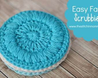 Easy Face Scrubbies - Crochet Pattern