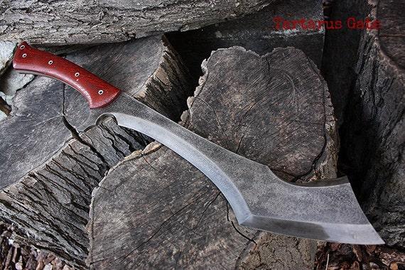 Custom Sheaths For Fof Machetes Swords Axes By Fallenoakforge