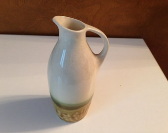 Japanese tall pitcher sake vase.