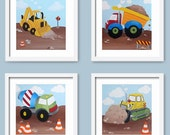 Cute little Construction Vehicles