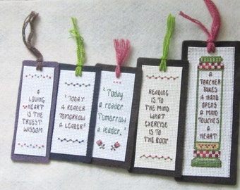 Hand-Crafted Bookmarks