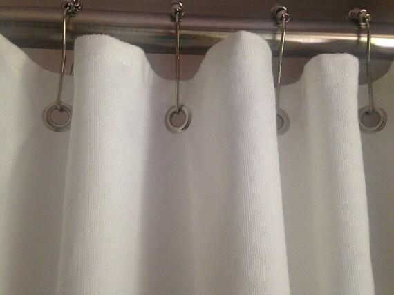 Custom Shower Curtain Grommet Top Nautical Spa Hotel