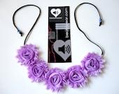 PREMADE Flower crown lavender purple Flower halo rave headband festival headband hippie daisy roses