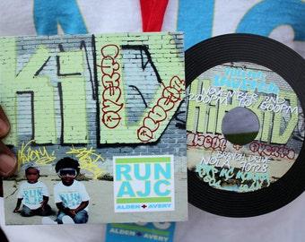Vinyl CD Invitation