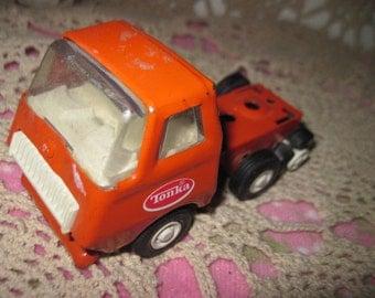 Tonka Orange Truck Small
