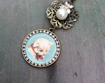 Retro Kitten Necklaces/Retro/Victorian/Edwardian