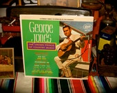 George Jones The Crown Prince of Country Music Starday SLP 125 Record LP