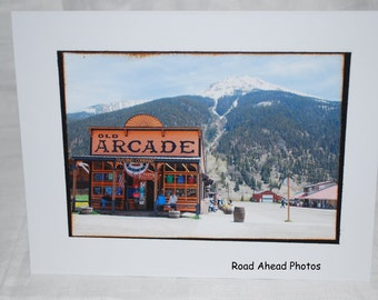 photo card, Silverton Colorado, photography