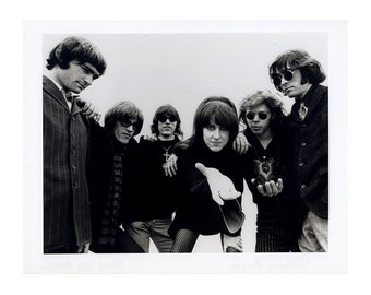 Jefferson Airplane Publicity Photo 8 by 10 Inches