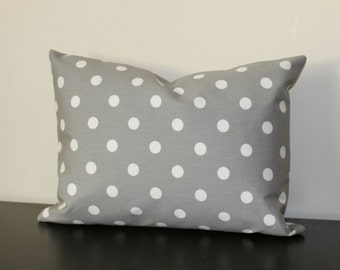 Decorative Pillow Cover, Lumbar Pillow Cover, Gray White Pillow Cover,Toss Pillow, Sofa Pillow, 12x16,12x18, Accent Pillow, Bedroom Pillow