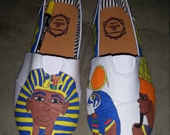 Egypt Tutankhamun Women's Shoes Size 8 1/2
