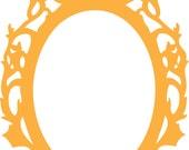 Victorian Ornate Frame in Matte gold for jsgcls79