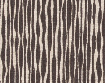 ON SALE - Charcoal Grey Upholstery Fabric