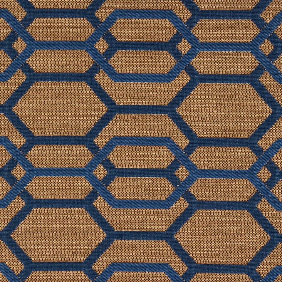 Navy Blue Geometric Upholstery Fabric Dark Blue Furniture