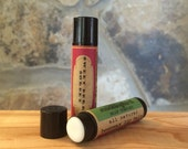 Sweet Berry Sorbet All-Natural Beeswax Lip Balm. Local Beeswax from the Beekeeper. Organic Shea & Cocoa Butters.