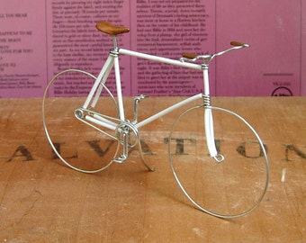 White Wire Bike