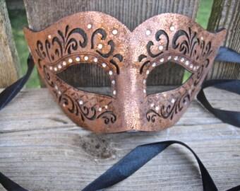 Bronze Masquerade Mask
