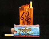 Dugout - Custom Zoso Woodburned - Led Zeppelin