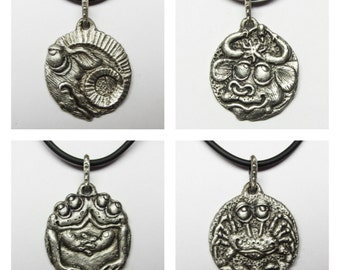 Whimsical Silver Zodiac Necklaces WHAT'S YOUR SIGN? Collection