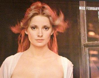 Playboy Centerfold/Poster from February 1973 Playboy Magazine