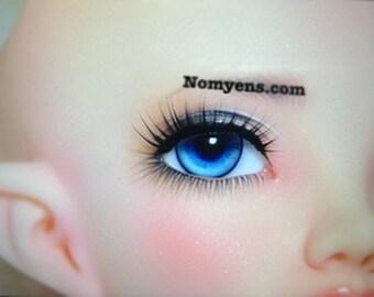 BJD eyelash : Strong black
