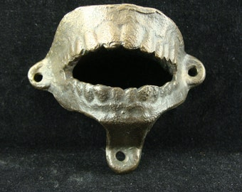 Vintage Unusual False Teeth Bottle Opener