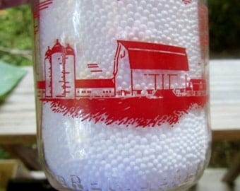shadowbrook dairy tunkhannock pa. half pint bottle for milk or cream dairy closed