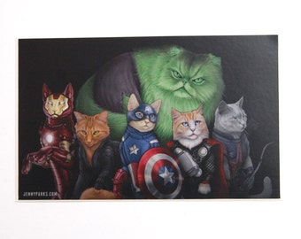 Catvengers Sticker