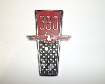 Vintage Ford 390 Emblem