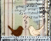 The music between us - Art Print 21 x 30 cm/ 8,3 x 11,8 in