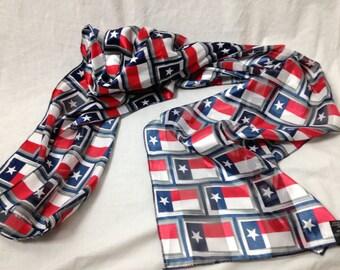 texas flag silk