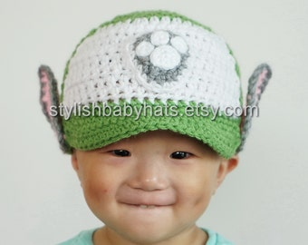 Rocky Hat, PAW Patrol Hat, Crochet Baby Hat, Mixed Dog Hat, photo prop, Inspired by Rocky from PAW Patrol