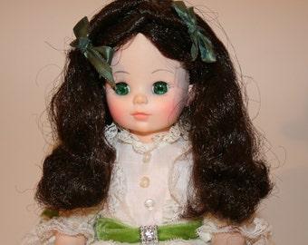 """Vintage Madame Alexander Scarlet O'Hara 14"""" Doll"""