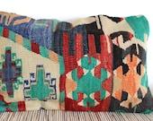 Hannah Turkish Kilim Pillow Cover