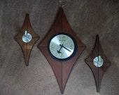 Vintage Mid Century Welby Wall clock
