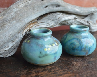Clay Candle Holders (Set of 2)