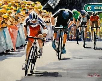 After the big crash on Le Tour