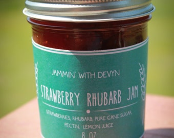 Old Fashioned Strawberry Rhubarb Jam
