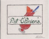 Pat O'Briens Needlepoint Canvas