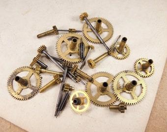 Brass Clock Gears - Steampunk Supplies g14