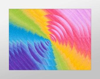 Vibrant Canvas Art Print, Artistic Splash Wall Art, Pastel Canvas Print, Artistic Wall Art, Canvas Art, Canvas Print, Home Art, Wall Art
