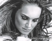 Drawing Print of Natalie Portman Portrait (Star Wars / Thor)