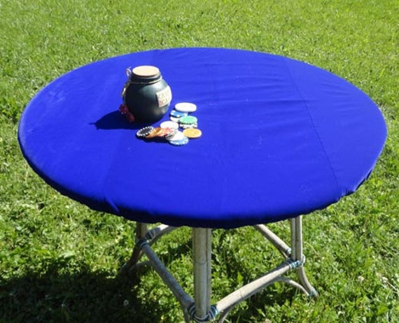 FELT Poker Table Cloth BONNET Cover For Round, Square Or Rectangle Patio  Tables   Bridge Or Mahjong Game