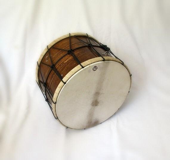 35cm Davul Daouli Barrel Drum Tupan Tapan Cretan Toumbi Tof Dhol by KleoDrums