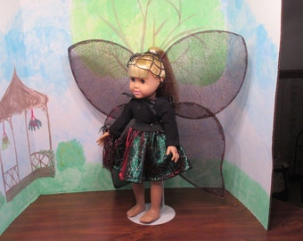 Spider Fairy/dance outfit for 18 inch (American Girl) doll