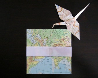 OLD MAPS origami paper, origami papier, modular origami, papier origami, japanese origami, paper suppliers, paper folding crafts