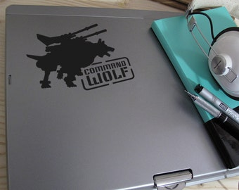 Command Wolf Vinyl Decal