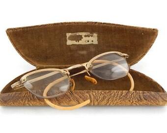 Vintage C.O.C.Ornate Design Womens Eyeglasses