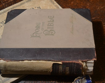 Antique Book Home of the Bible by Marion Harland, Copyright 1895 by H.S. Smith