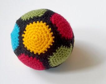 UK SELLER Baby Crochet Ball - Rattle Toy